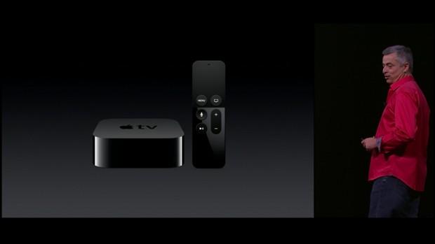 Der neue Apple TV ist etwas größer. (Bild: Apple/Screenshot: Golem.de)