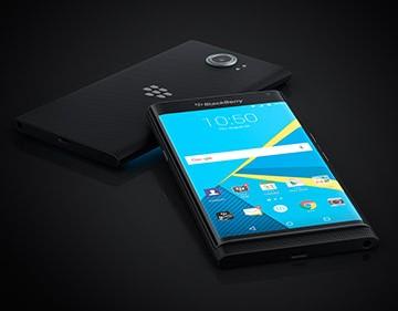 Priv läuft mit Android (Bild: Blackberry)