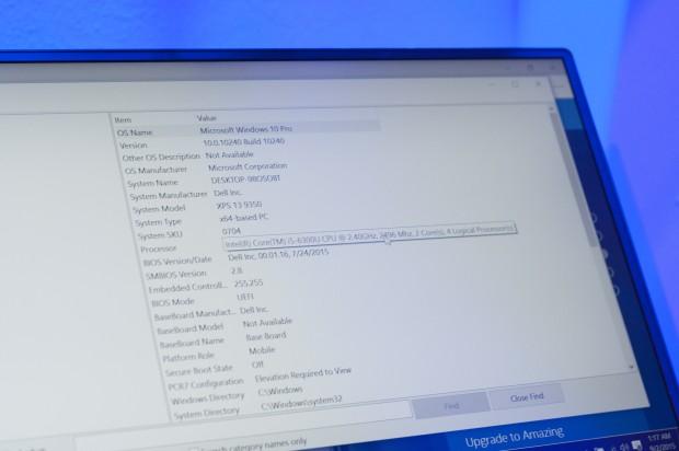 In dem Notebook ist ein Skylake-Prozessor verbaut. (Bild: Andreas Sebayang/Golem.de)