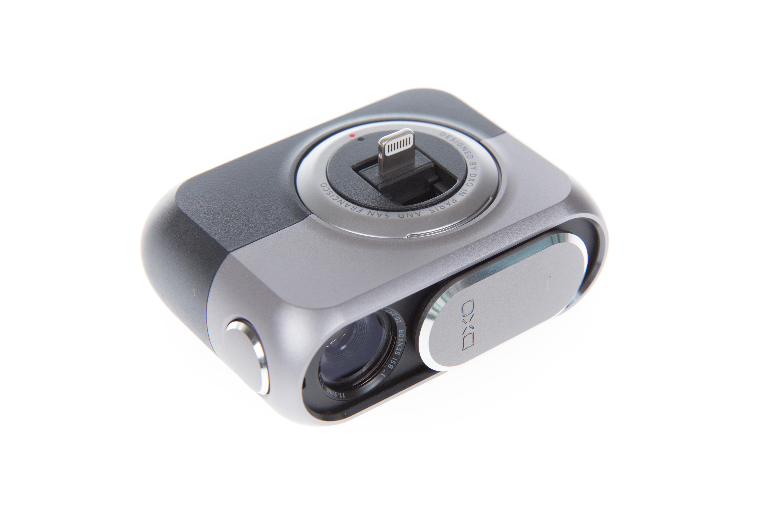 Aufsteckkamera Dxo One im Test: Ein Klick macht das iPhone zur echten Kamera - Die Ansteckkamera Dxo One (Bild: Martin Wolf/Golem.de)