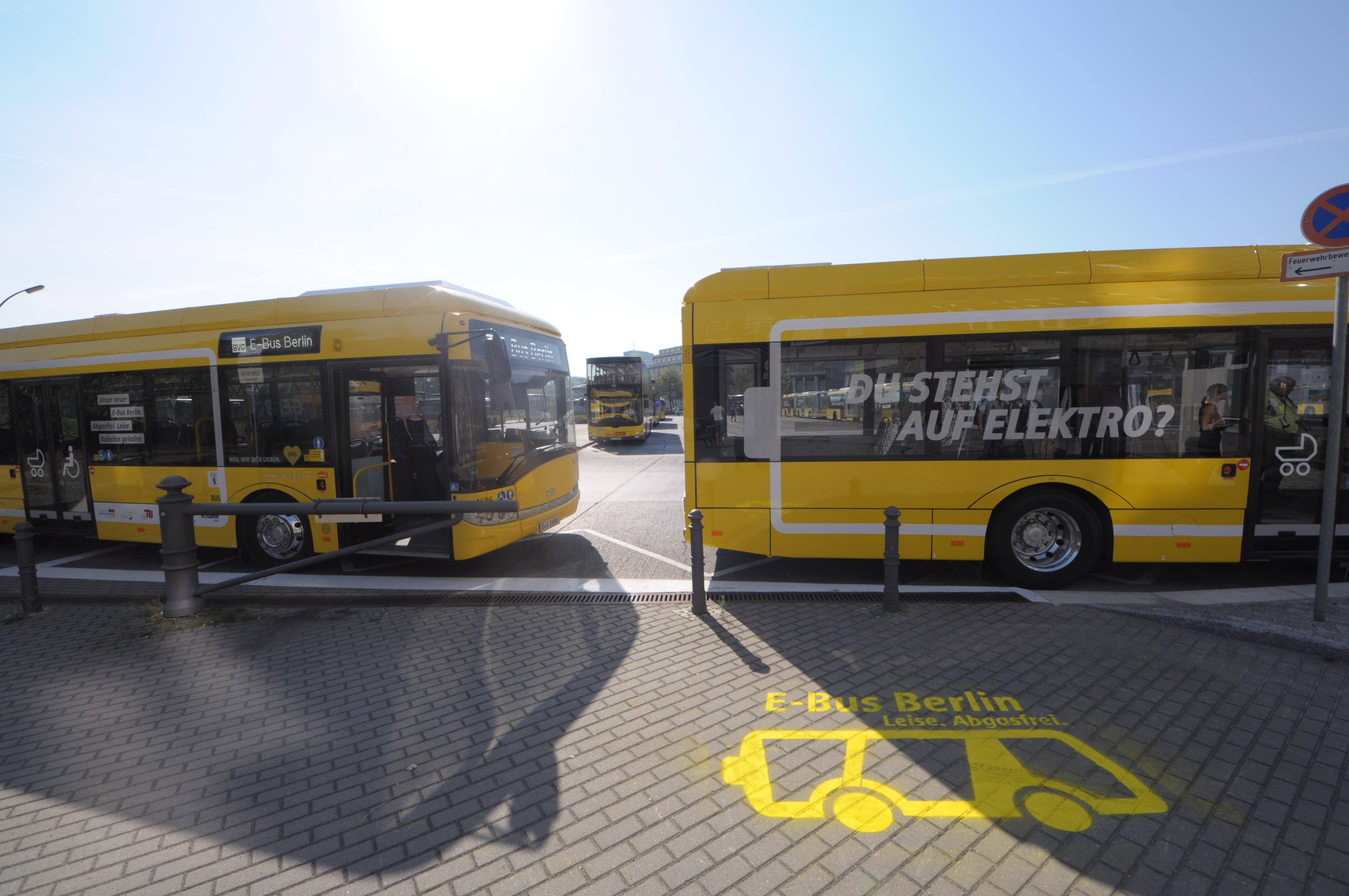 Nahverkehr: Hamburg und Berlin kaufen gemeinsam saubere Busse - ... und Politikerfahrt genutzt. (Foto: Andreas Sebayang/Golem.de)