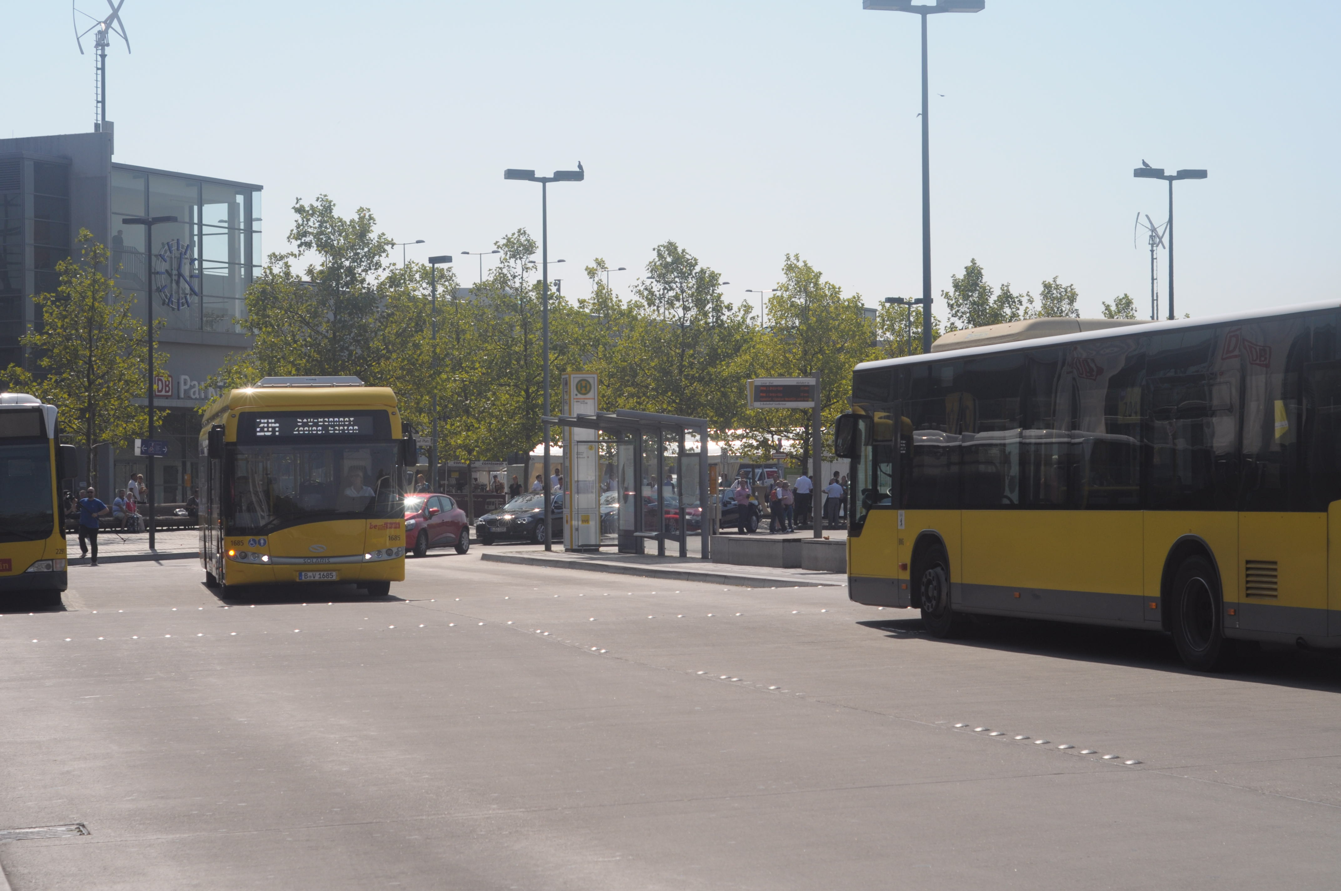 Bombardier Primove: Die BVG hat Probleme mit ihren Berliner Induktionsbussen -