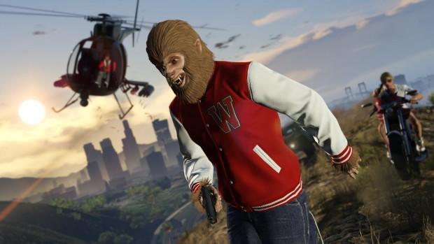 Freemode Event im Onlinemodus von GTA 5 (Bild: Rockstar Games)