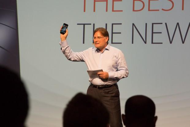 Gigasets Einstieg in den Smartphone-Markt (Bild: Martin Wolf/Golem.de)