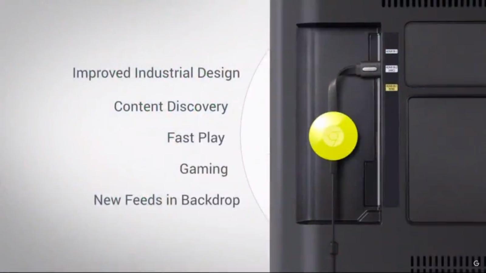 Google: Neuer Chromecast ist rund und kostet 39 Euro - Chromecast (2015) (Screenshot Golem.de)