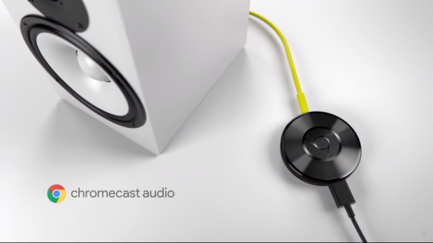 Chromecast Audio (Screenshot Golem.de)