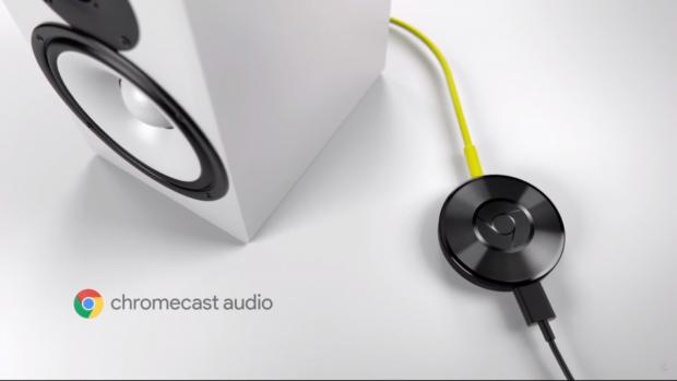Chromecast Audio (Screenshot Golem.de)