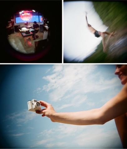 Aufnahmen mit der Holga Digital (Bild: Kickstarter)