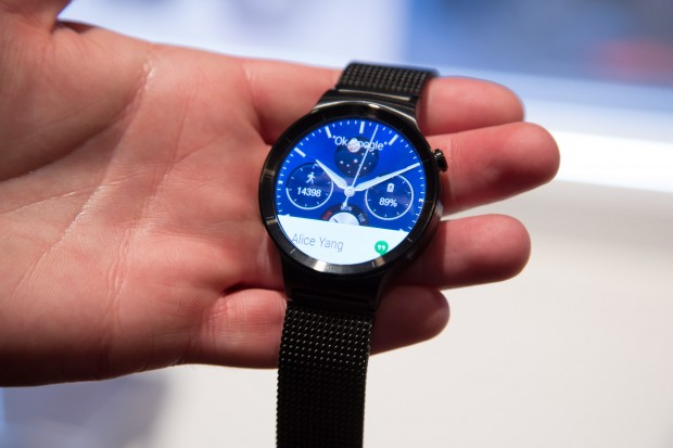 Die Huawei Watch (Bild: Martin Wolf/Golem.de)