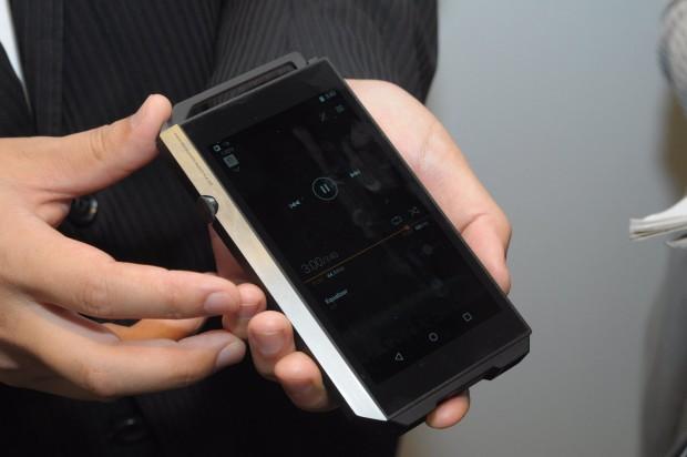 Pioneers Audioplayer spielt verschiedene High-End-Formate ab. (Foto: Andreas Sebayang/Golem.de)