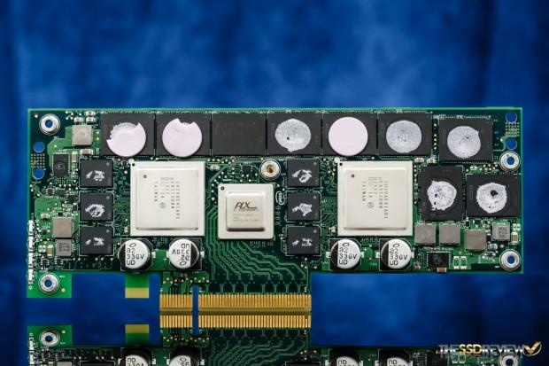 Intels DC P3608 ohne Kühler (Bild: The SSD Review)