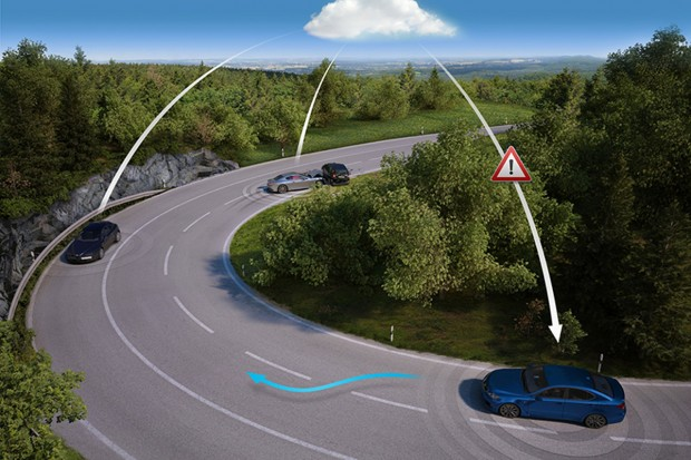 """Mit dem Konzept der """"lebenden Straßen"""" (live roads) will der Kartendienst Nokia Here auch über solche Hindernisse informieren, die nicht auf Karten verzeichnet werden können. (Bild: Nokia Here)"""