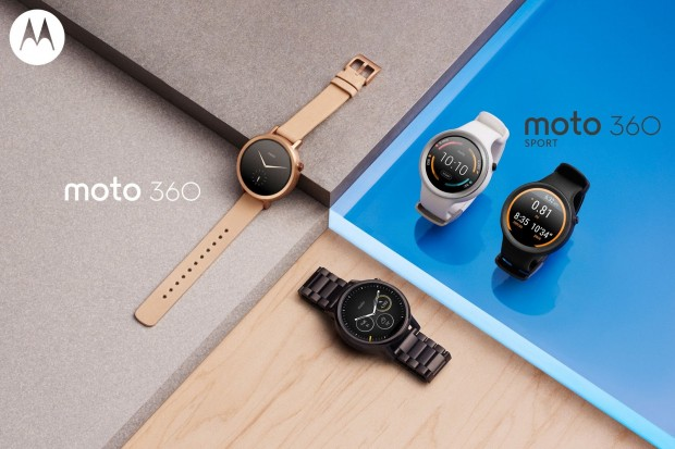 Die neuen Moto-360-Modelle (Bild: Motorola)