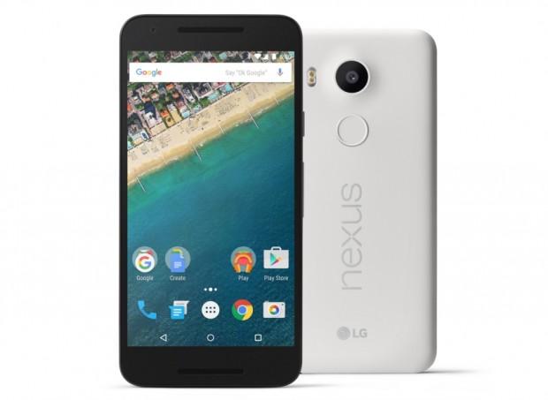 Googles neues Nexus 5X, gefertigt von LG (Bild: Google)