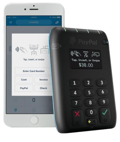 Paypal Chip Card Reader (Bild: Paypal)