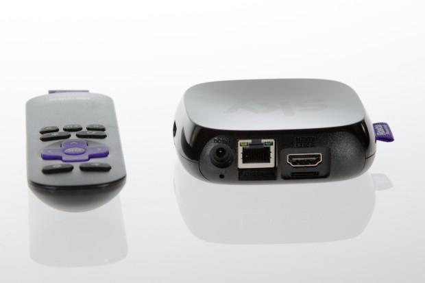 Sky Online TV Box mit Infrarotfernbedienung (Bild: André Schume/Golem.de)