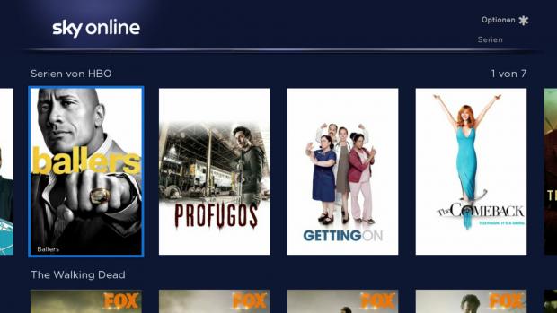 Die Rubrik der HBO-Serien von Sky Online (Screenshot: Golem.de)