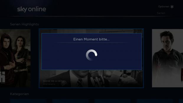 Solche Wartedialoge erscheinen immer mal wieder. (Screenshot: Golem.de)