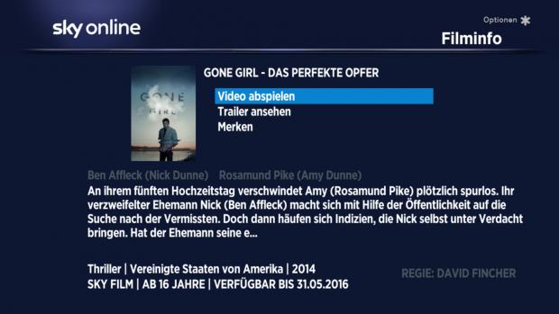 Die Detailseite eines Films ohne Laufzeitangabe, aber mit Verfügbarkeitsende (Screenshot: Golem.de)
