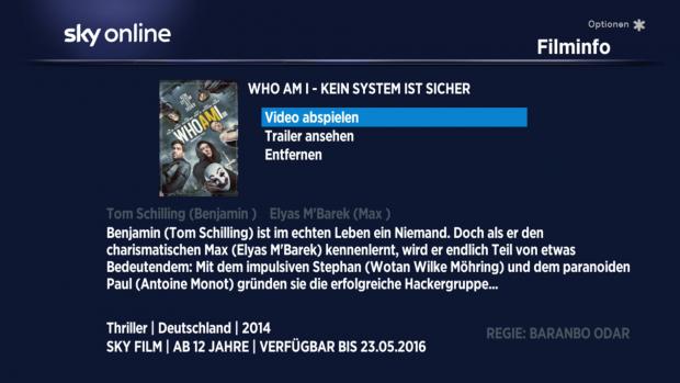 Auf der Detailseite gibt es keine Verweise respektive Empfehlungen zu ähnlichen Titeln. (Screenshot: Golem.de)