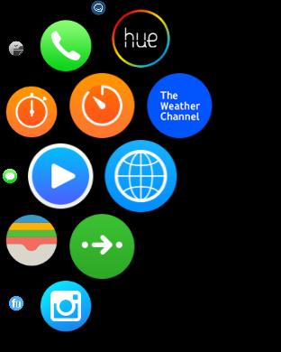 Eine Auswahl der aktualisierten Apps. (Screenshot: Golem.de)
