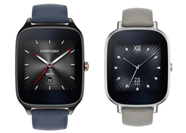 Die beiden Varianten der Zenwatch 2 (Bild: Asus)