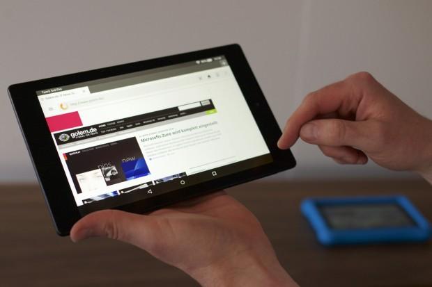 Das neue Fire HD 8 (Bild: Michael Wieczorek/Golem.de)