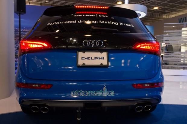 Unauffällig: Delphi stattet das autonom fahrende Auto unauffällig aus. (Foto: Werner Pluta/Golem.de)
