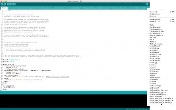 Die Programmierung der Firmware kann über die Arduino IDE erfolgen. (Foto: Alexander Merz/Golem.de)