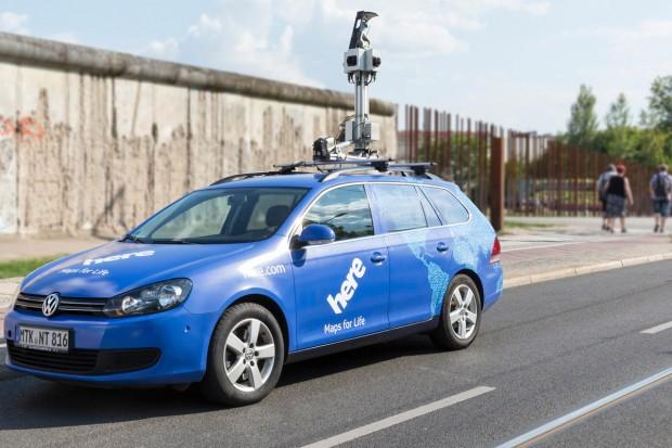 Nokia Here nimmt mit einer eigenen Fahrzeugflotte weltweit hochgenaue Karten auf. (Fotos: Nokia Here)