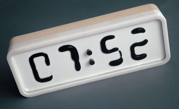 Die elektromechanische Uhr Rhei... (Foto: Rhei)
