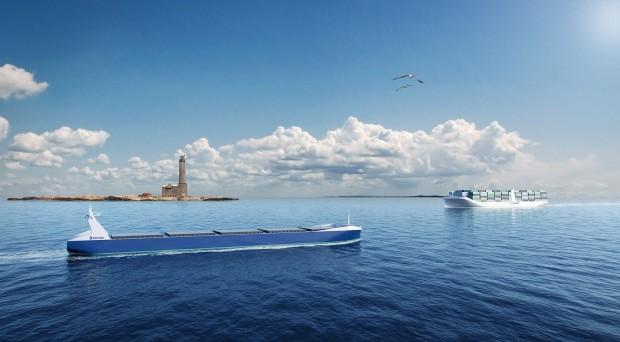 In Zukunft sollen Schiffe ohne Mannschaft fahren. (Bild: Rolls Royce)