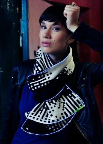 Schal von Electro Couture (Foto: Electro Couture)