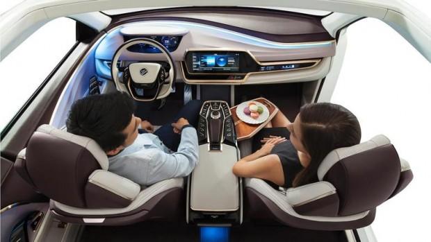 Der Innenraum eines Autos verändert sich in den kommenden Jahr stark. Das sagt das chinesische Unternehmen Yanfeng. (Bild: Yanfeng)