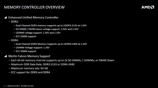 Merlin Falcon unterstützt DDR4. (Bild: AMD)