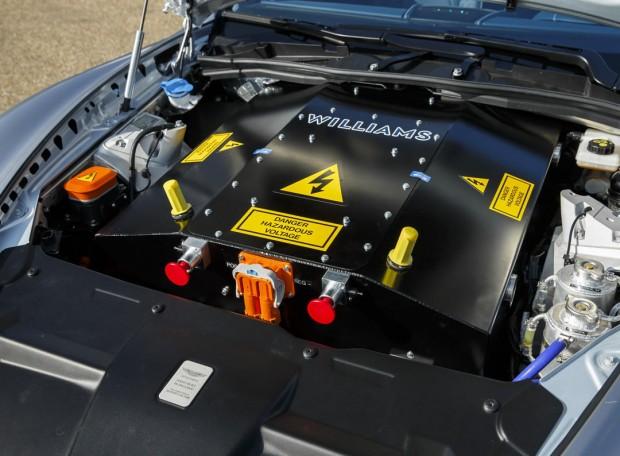 Elektromotor des Aston Martin RapidE (Bild: Aston Martin)