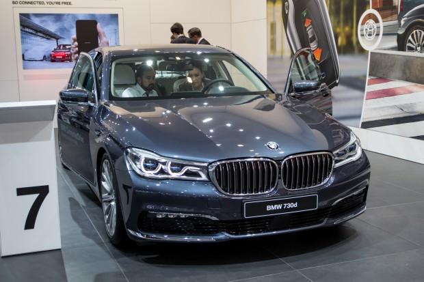Der neue 7er BMW (Bild: Tobias Költzsch/Golem.de)