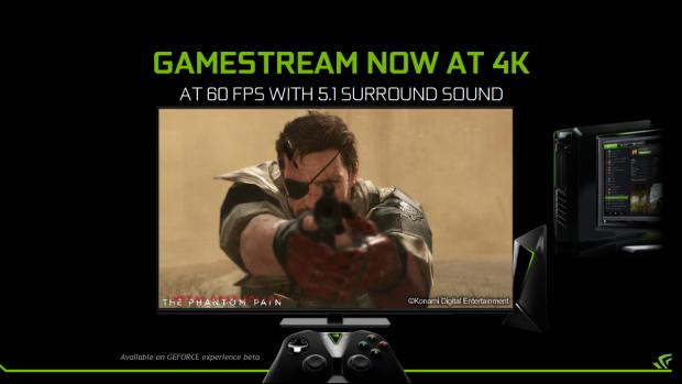 Gamestream unterstützt nun 2160p60 und 5.1-Sound. (Bild: Nvidia)