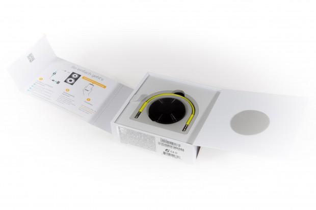 Googles Verpackung für den Chromecast Audio (Bild: Martin Wolf/Golem.de)