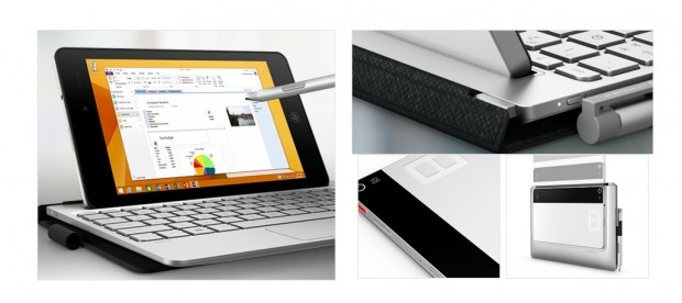 HPs neues Windows-Tablet Envy 8 Note (Screenshot: Golem.de)
