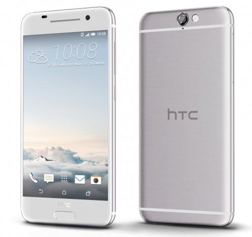 HTC One A9 in Opal Silver (Bild: HTC)