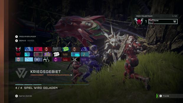 Im Multiplayer-Modus Kriegsgebiet können bis zu 24 Teilnehmer antreten. (Bild: Screenshot Golem.de)