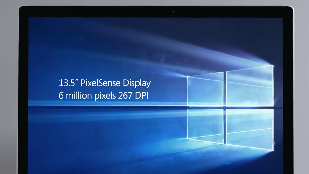 Microsoft: Das Surface Book ist ein 2-in-1-Detachable - Surface Book (Bild: Microsoft)