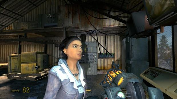 Half-Life 2 Episode 2 läuft auf dem Tegra X1 in 1080p60. (Bild: Golem.de)