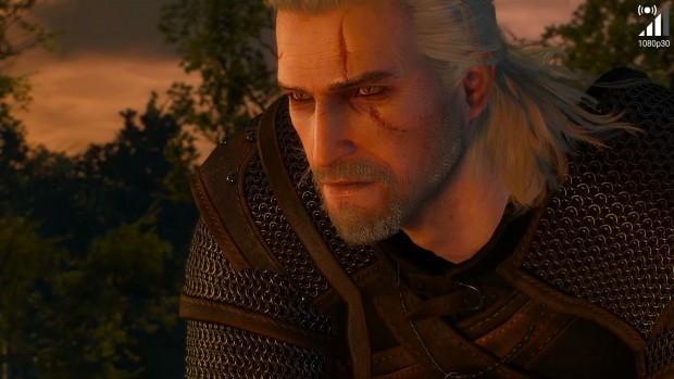 Geforce-Now-Screenshot von The Witcher 3 (Bild: Golem.de)
