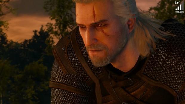 Geforce-Now-Screenshot von The Witcher 3 (Bild: Golem.de)