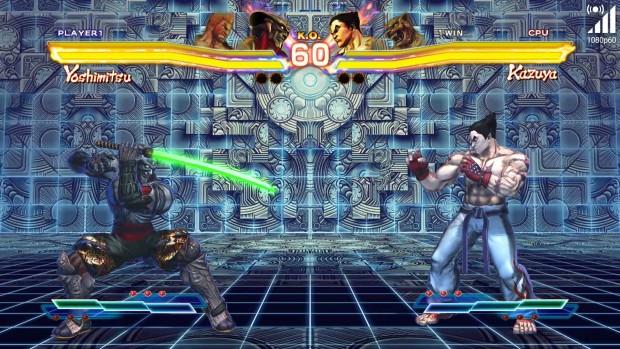 Flotte Titel wie Tekken laufen in 1080p60. (Bild: Golem.de)