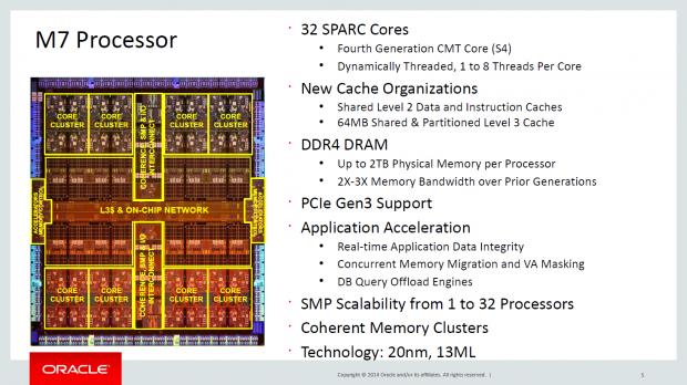 Sparc M7 (Bild: Oracle)