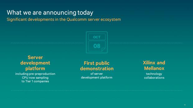 Neuer Serverchip auf Basis von ARM-Kernen (Bild: Qualcomm)