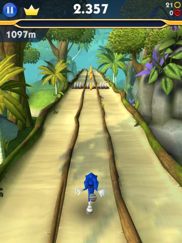 Sonic Dash 2 - Sonic Boom (Screenshot: Golem.de)